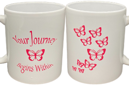 Your Journey Begins Within 10 oz. Mug