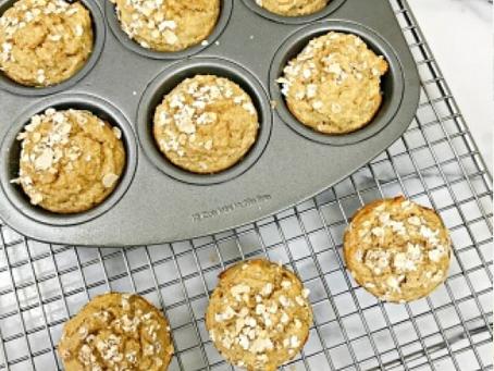 Blender Oat Muffins