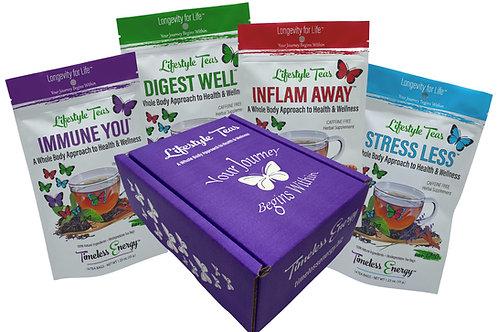 Whole Body Health Premium Tea Collection