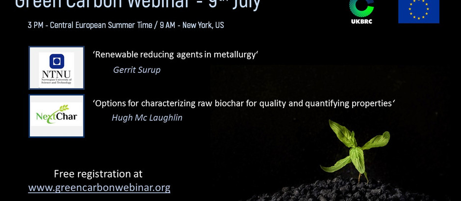 Next Webinar on 9th July