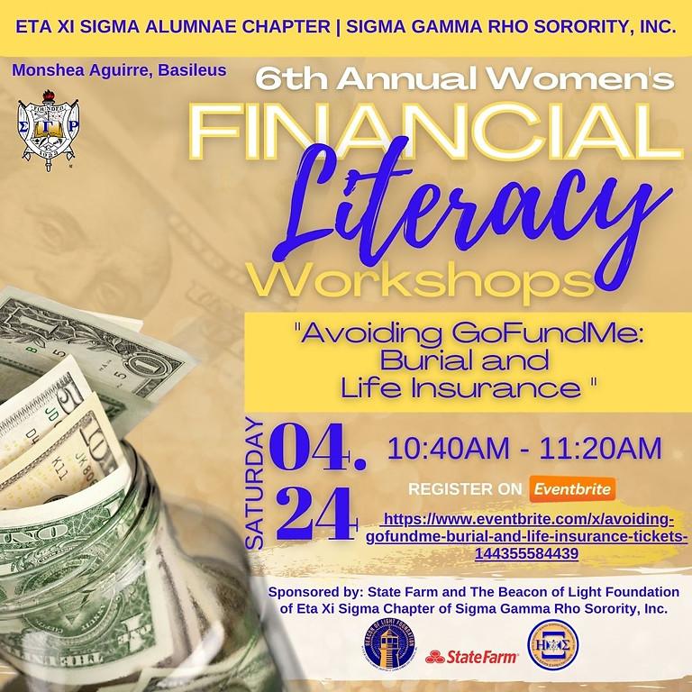6th Annual Women's Financial Literacy Workshops