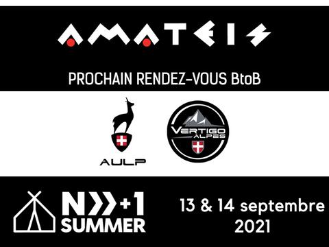 """Amateis sera présent au nouveau salon """"Next Summer"""""""