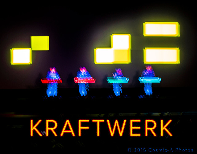 Kraftwerk Pixelate PC: Cosmic-A Photos