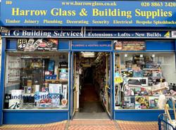 Shop front H. G. Building Services