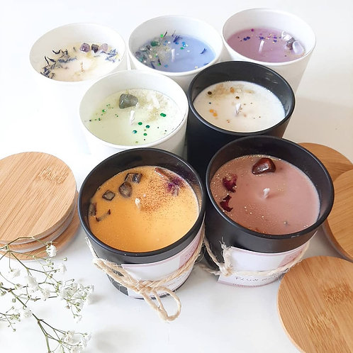 Spiritual-Spa Full Collection ~ 7 Scented Candles