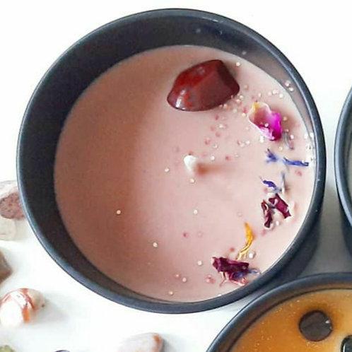 Spiritual-Spa ~ Chakra I ~ The Root ~ Meditation Vegan Candle