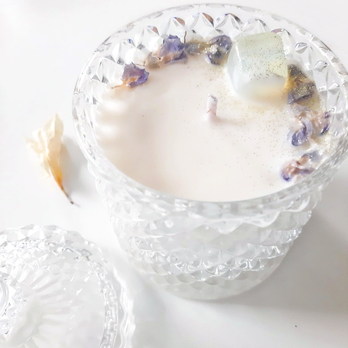 Unscented Anti-Allergy (but Beautiful) ~ Jewelry Candle