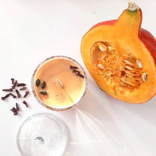 Calabacita ~ Pumpkin Cream with Clove ~ Vegan Candle
