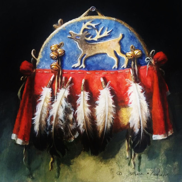 Shield of the Elk Hunter