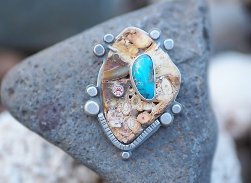 Ancient Echoes Pin/Pendant by Susan Adams