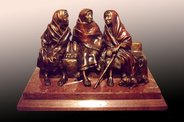 """Tres Amigas"" by Susan Kliewer"