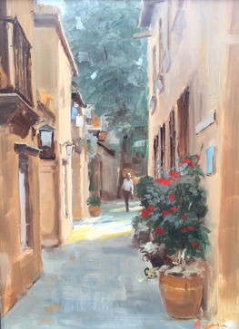 Alleyway in Tlaquepaque