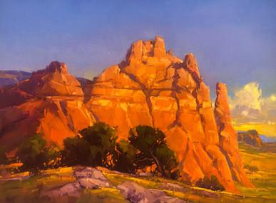 Redrock Backdrop