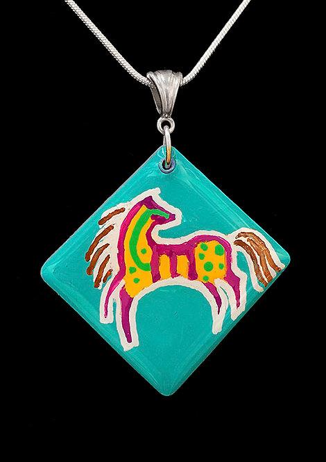 Horse Pendant by Sandra Byland Jewelry