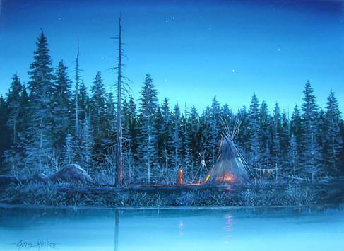 """""""Moon Lit""""  by Gene Speck"""