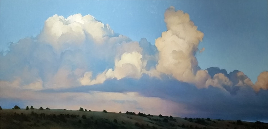 """Summer Clouds Over High Desert"" by Marcia Molnar"