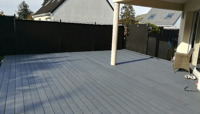 Terrasse Co-extrudée gris ardoise2