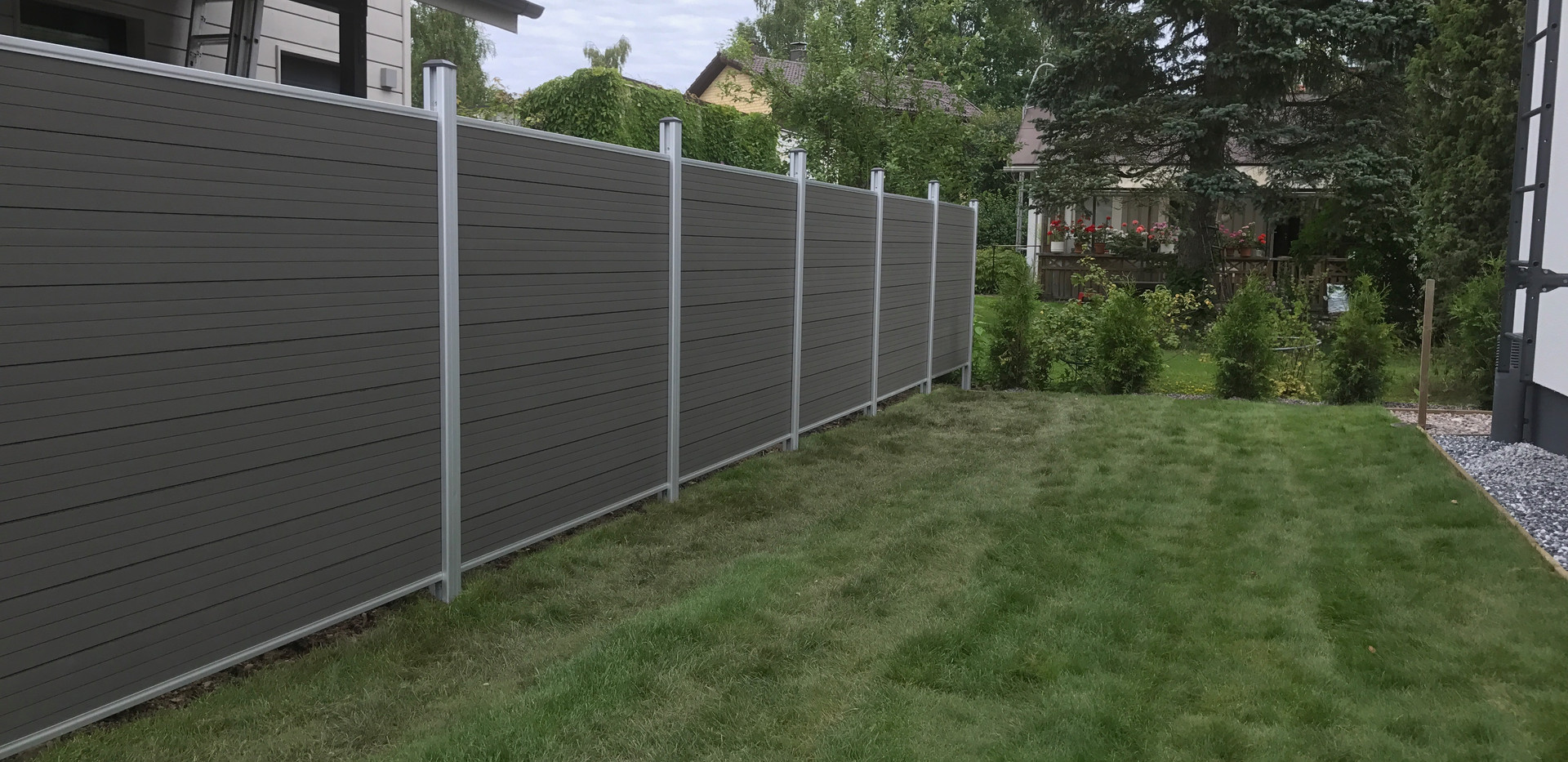 Tranditional fence project pictures (5).