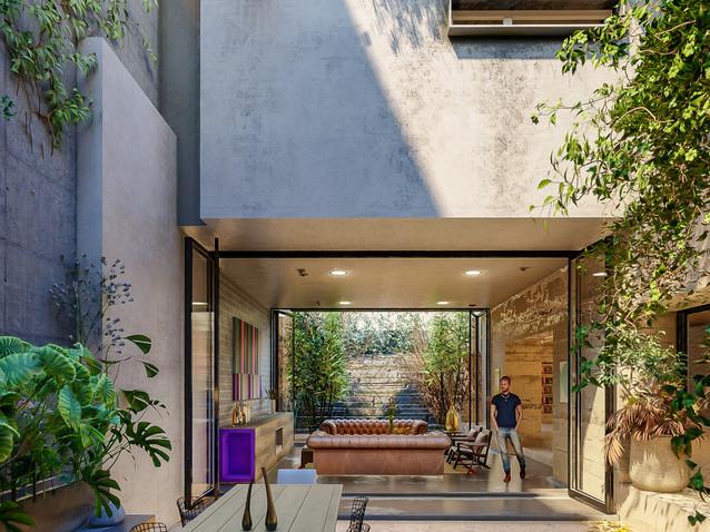 Design cour intérieure