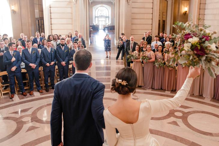 san francisco cityhall wedding photographer