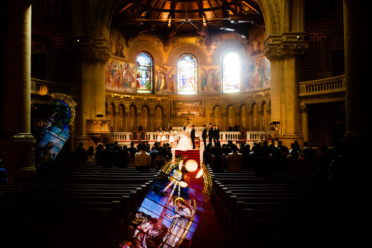 Stanford Church Wedding