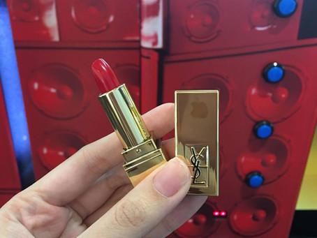 YSL Lipstick Vending Machine