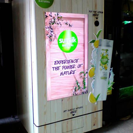 Sunsilk Vending Machine (ตู้แจกแชมพูSunsilk Natural)