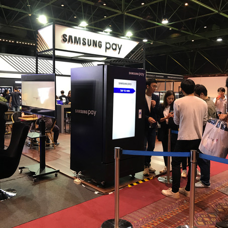 Thailand Mobile Expo 2018 - Samsung Pay, Galaxy gift
