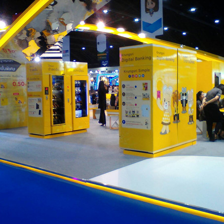 PremiumService Machine for Krungsri Bank @Money Expo 2017 Impact