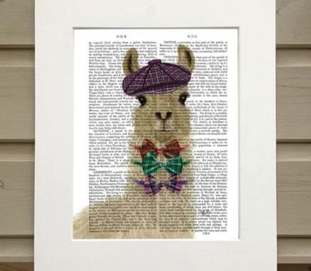 FabFunky Ltd Llama Print