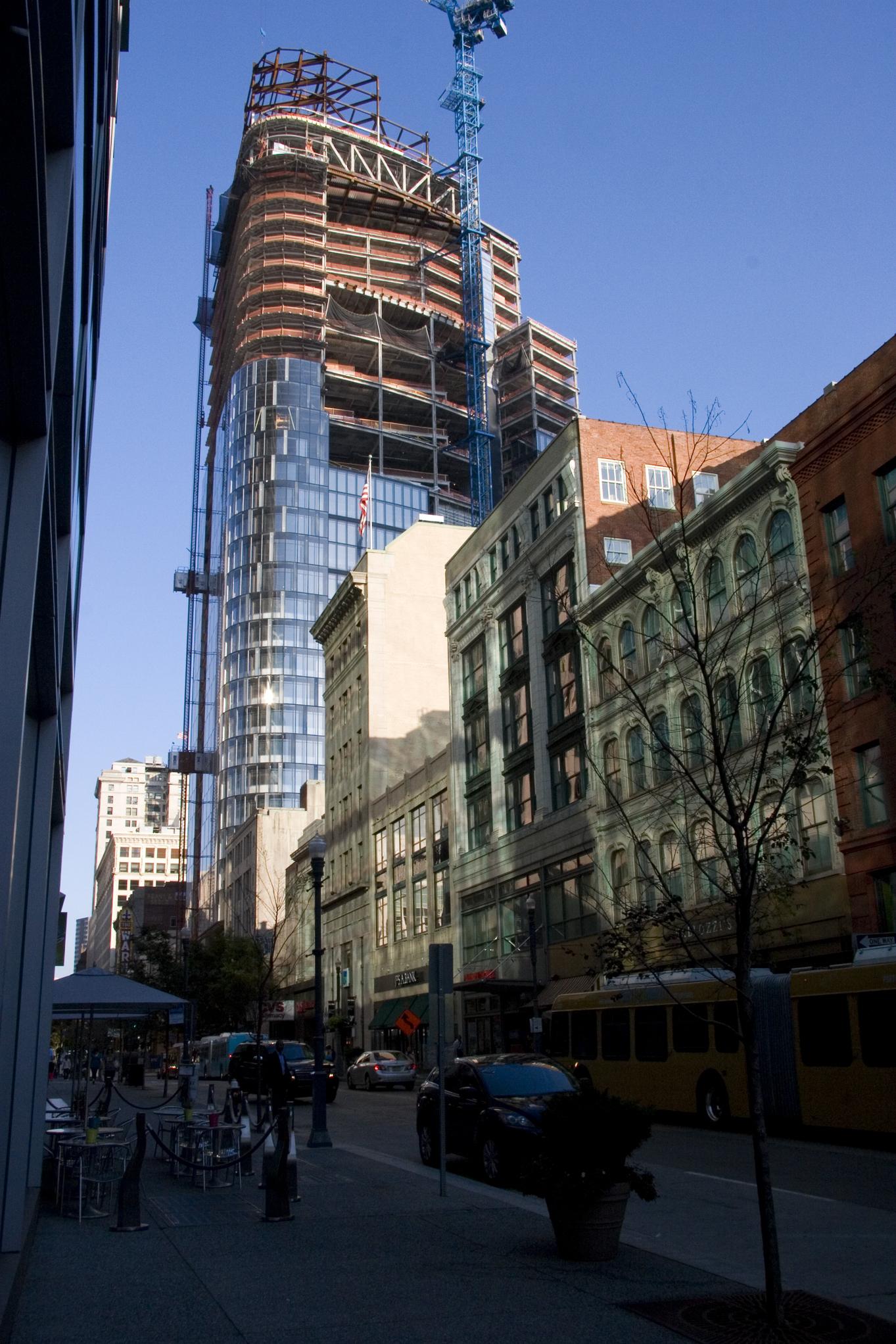 PNC Tower Construction