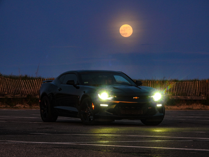 Camaro SS Moon - DeaneHD Wallpaper
