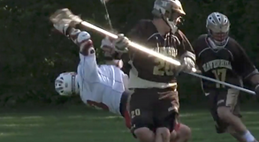 Lacrosse still from Deane action videography