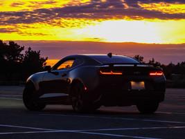 Camaro SS Sunset Back - DeaneHD Wallpaper