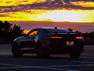 Camaro SS Sunset Back - DeaneHD Wallpaper