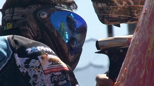 Paintball still from Deane action videography