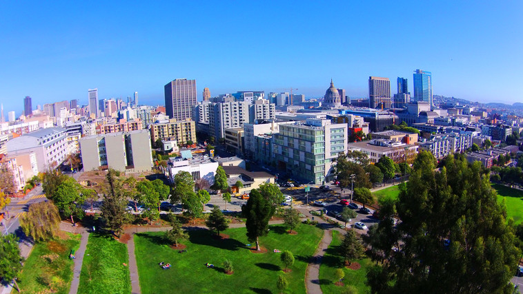 San Francisco Park in the City - DeaneHD Wallpaper