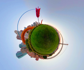 360 Tiny Planet Cupid's Arrow - DeaneHD Wallpaper