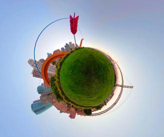 360 Tiny Planet Cupid's Arrow - DeaneHD Wallpaper
