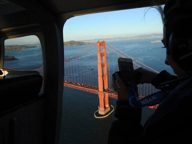 Helicopter Golden Gate Brige - DeaneHD Wallpaper