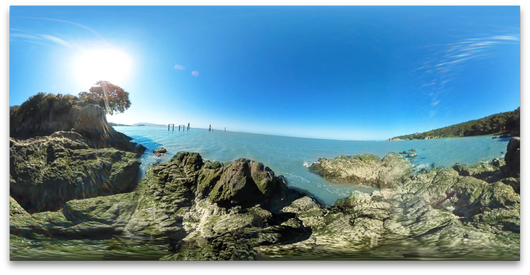 360 Rocks by the bay - DeaneHD Wallpaper