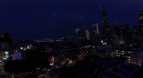 San Francisco Night Aerial - DeaneHD Wallpaper