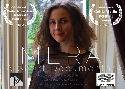 Mera Landscape poster with Laurels small