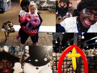 Ballonnenpiet gesignaleerd in Almelo