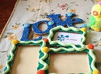 creatief met foamclay fotolijst love apeldoorn gelderland overijssel