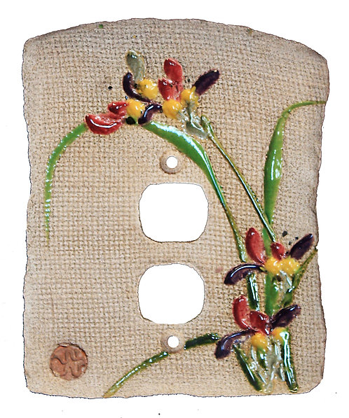 Combination Chinese Orchid - Electrical Outlet