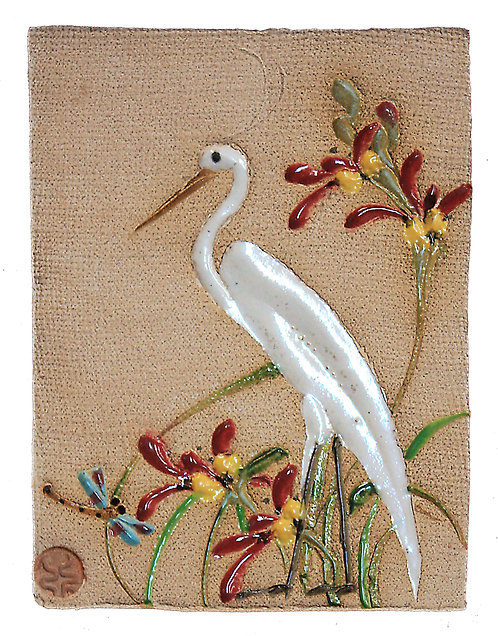 Egret - Wall Tile