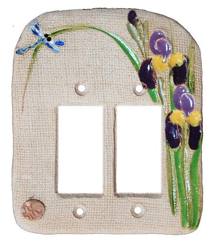 Purple Iris - Double Rocker