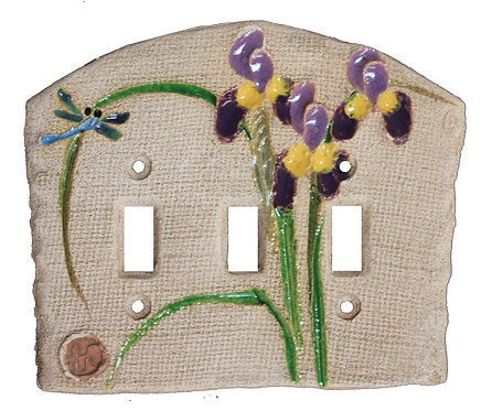 Purple Iris - Triple Switch