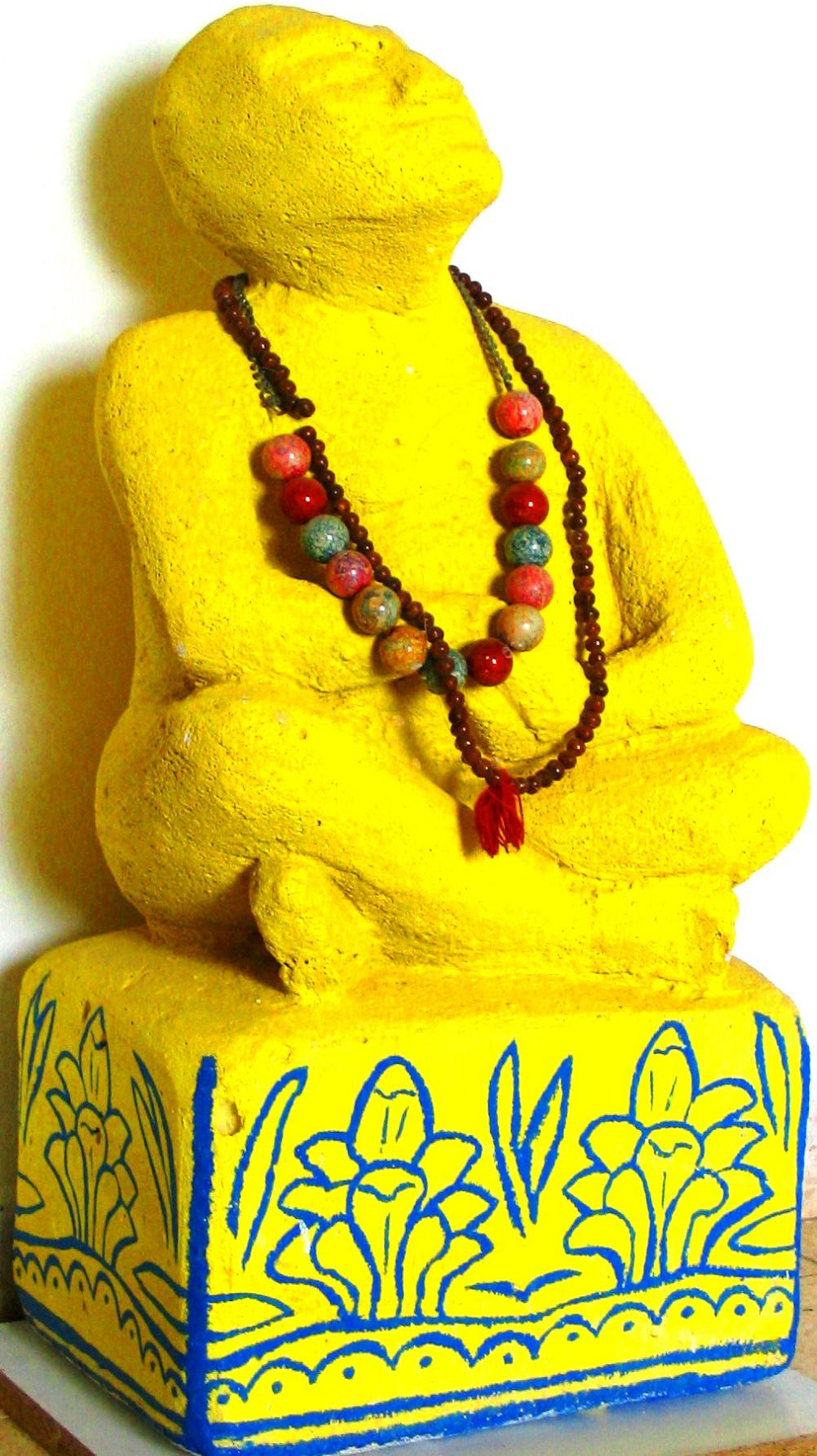 My Yellow Buddha